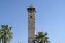 Vue du minaret de la grande mosquée d'Alep (XIIe siècle), détruit en 2013.