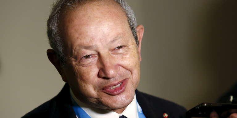 Naguib Sawiris, le frère aîné de Nassef.