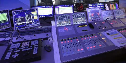 Dans les studios d'Europe 1, le 19 mars 2015.