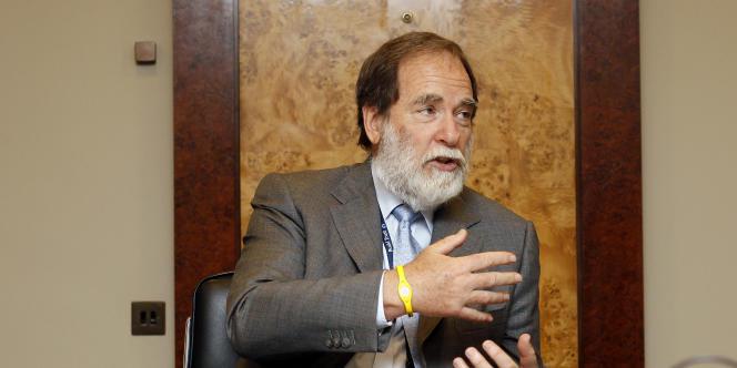 Nicky Oppenheimer, le patron du géant du diamant De Beers.