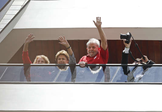 Dilma Rousseff et Lula.