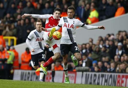 Respectivement deuxième et troisième, Tottenham et Arsenal se sont quittés sur un match nul (2-2) lors du grand derby de la 29e journée de Premier League.
