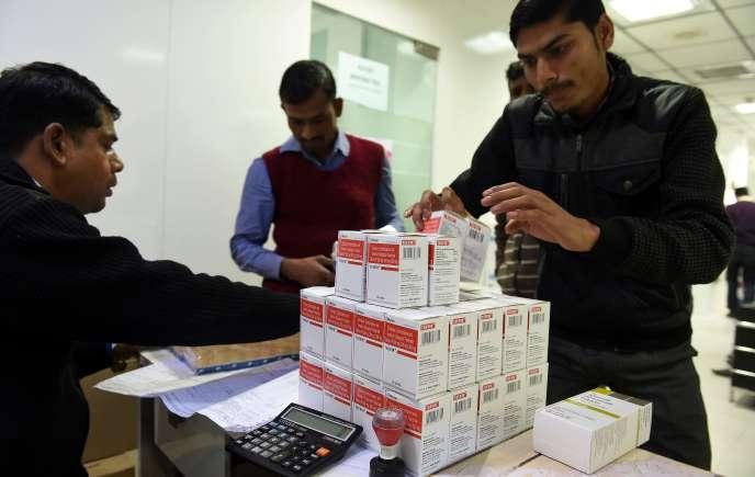 L'Inde a gagné le surnom de «pharmacie des pays en développement», mais l'accès aux médicaments est un problème.
