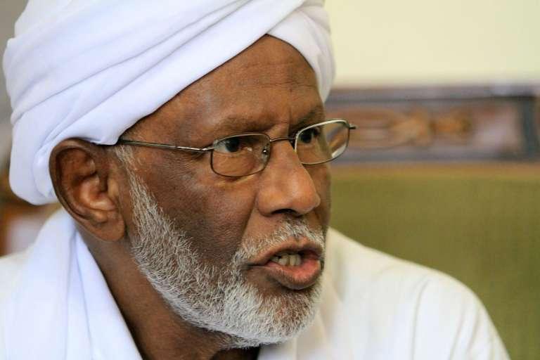 Hassan al-Tourabi en 2011 à Khartoum.