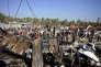 Après l'attentat-suicide à Hilla, à 95 kilomètres au sud de Bagdad, le 6 mars.