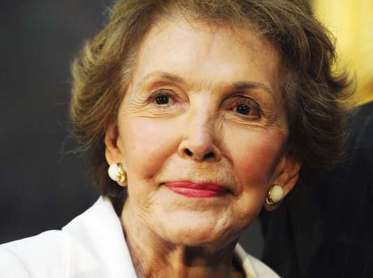 Nancy Reagan en 2009.