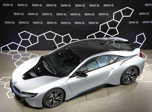 La BMW i8 hybride.