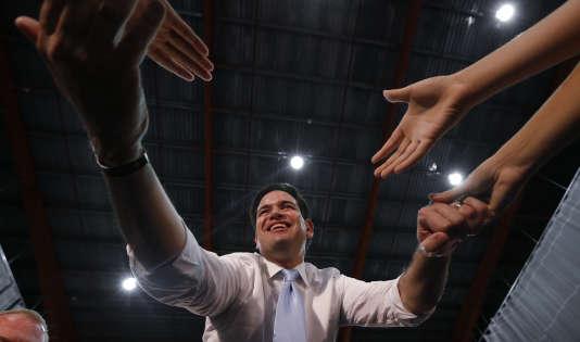 Marco Rubio, à Porto Rico le dimanche 6 mars.