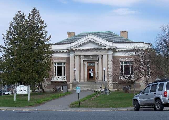 La bibliothèque de Lebanon, dans le New Hampshire.