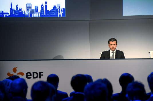 Thomas Piquemal, directeur executif Groupe en charge des finances d'EDF