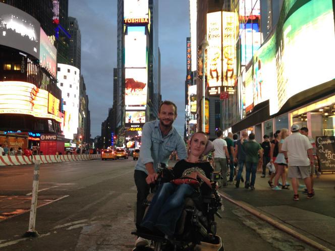 Lucie Carrasco et Jérémy Michalak dans un road trip déjanté à travers les Etats-Unis.