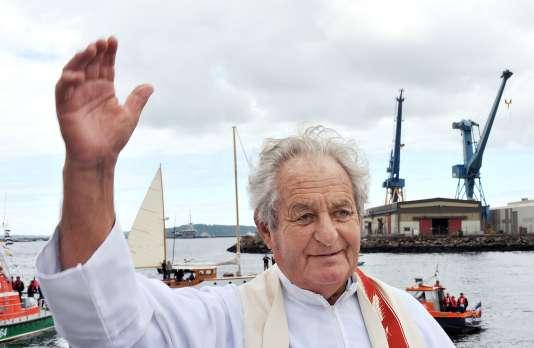 Michel Jaouen à Brest en 2008.