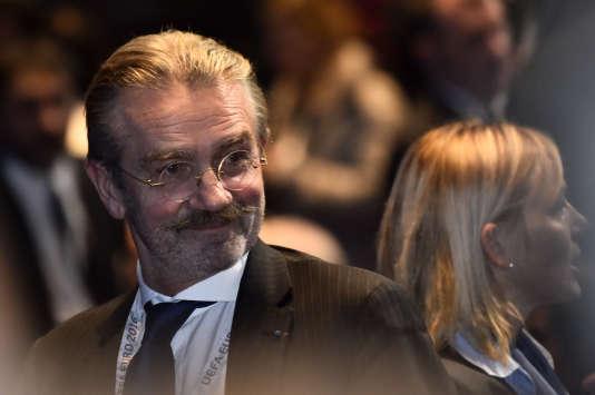 Frédéric Thiriez est président de la LFP depuis 2002.