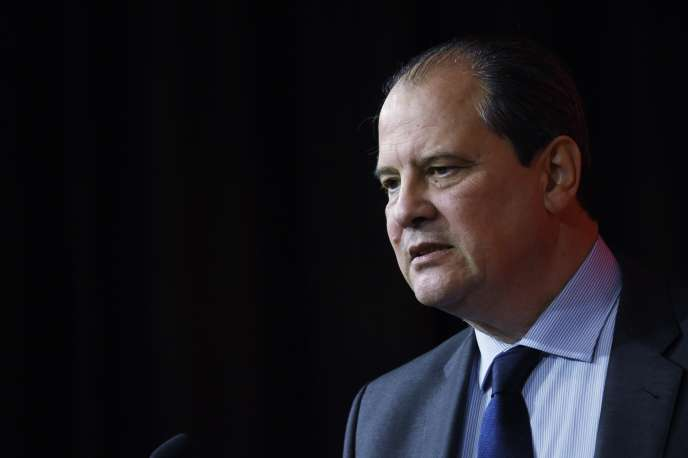 Le premier secrétaire du Parti socialiste Jean-Christophe Cambadélis, à Paris, le 7 mars.