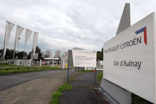 L'usine PSA d'Aulnay-sous-Bois (Seine-Saint-Denis).