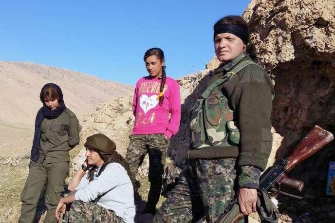 Des combattantes kurdes.