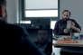 """Vincent Macaigne et François Damiens dans le film français de Dominik Moll, """"Des nouvelles de la planète Mars""""."""