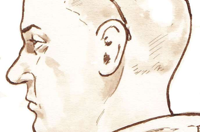 Mark Van Nierop, lors de sa comparution devant le tribunal d'Amsterdam, en 2014.
