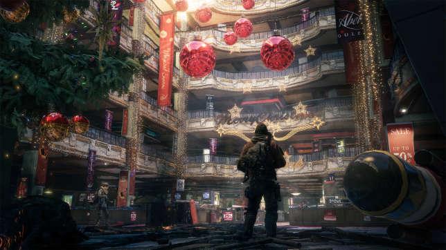 Capture d'écran du jeu vidéo «The Division».