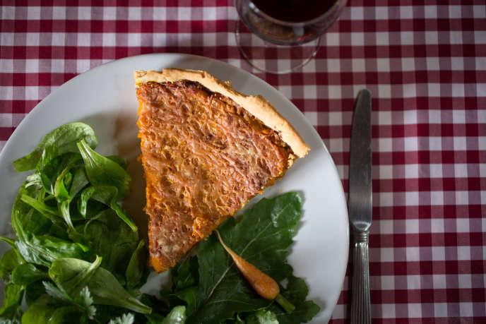 C'est en tarte que l'agriculteur Philippe Desbrosses apprécie le plus le potimarron.