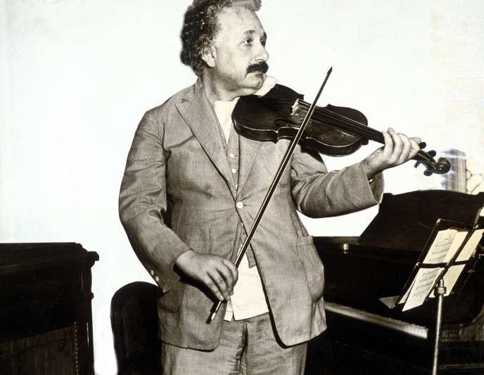 Albert Einstein, vers 1932.