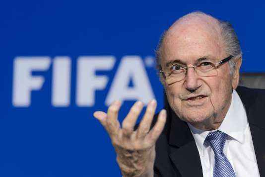 Sepp Blatter, le 20 juillet 2015.