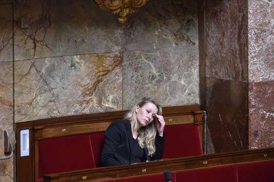 Marion Maréchal-Le Pen, à l'Assemblée nationale, le 8mars.