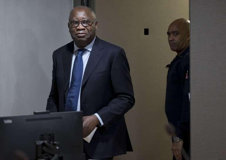L'ex-président ivoirien Laurent Gbagbo, le 28 janvier 2016, à l'ouverture de son procès à la Cour pénale internationale à La Haye.