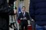 Manuel Valls à l'hôtel Matignon à Paris le 25 février 2016.