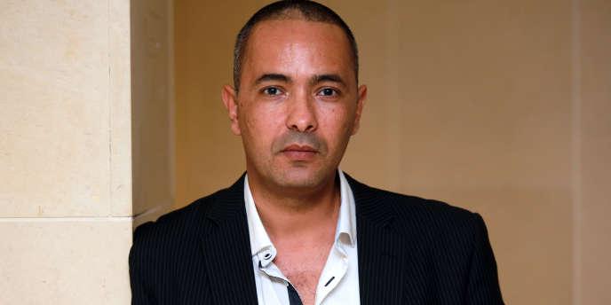 L'écrivain algérien Kamel Daoud le 10 octobre 2014 à Bordeaux.