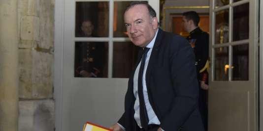 Le président du Medef, Pierre Gattaz, le 8 mars 2016 à Paris.