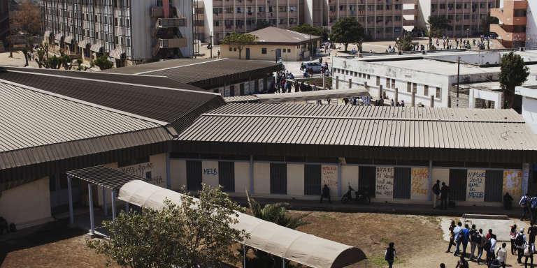 Le campus de l'université Cheikh Anta Diop à Dakar, en avril 2013.