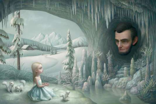 """Grotto of the Old Mass"" (2008), de Mark Ryden."