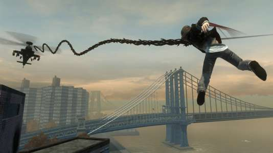 """""""Prototype"""" permettait de parcourir New York de long en large, et de bas en haut."""
