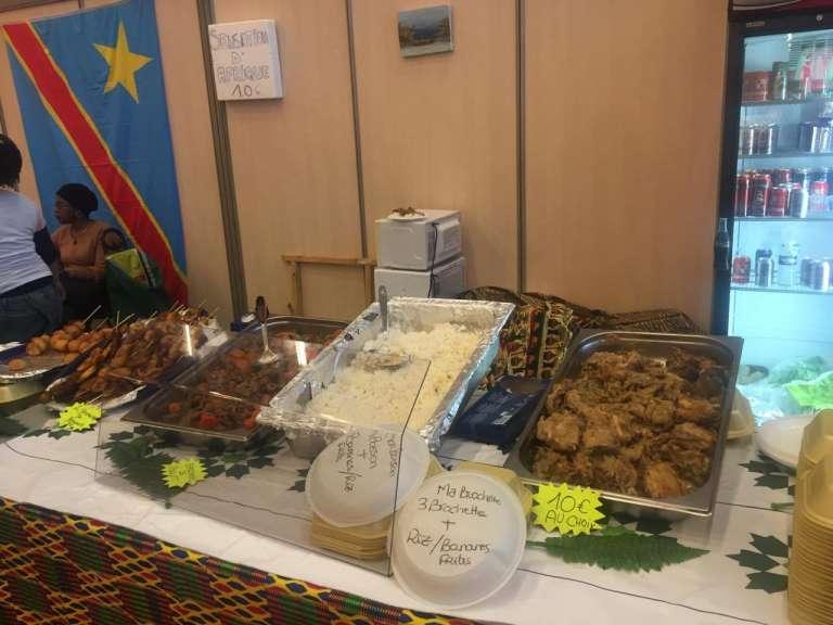 Le stand de la RDC au Salon de l'agriculture 2016.