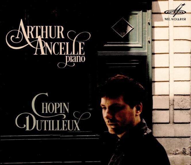 Pochette de l'album «Piano» par Arthur Ancelle.