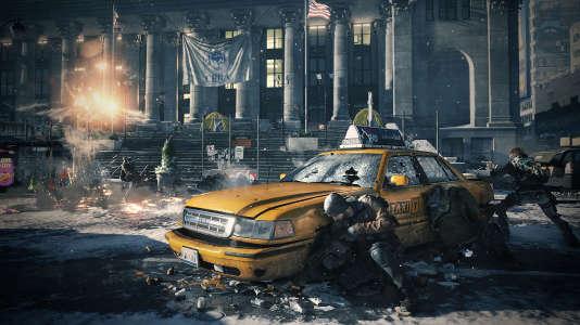 """Transformer New York en champ de guerre et ses éléments iconiques en éléments de jeu, le défi de """"The Division""""."""