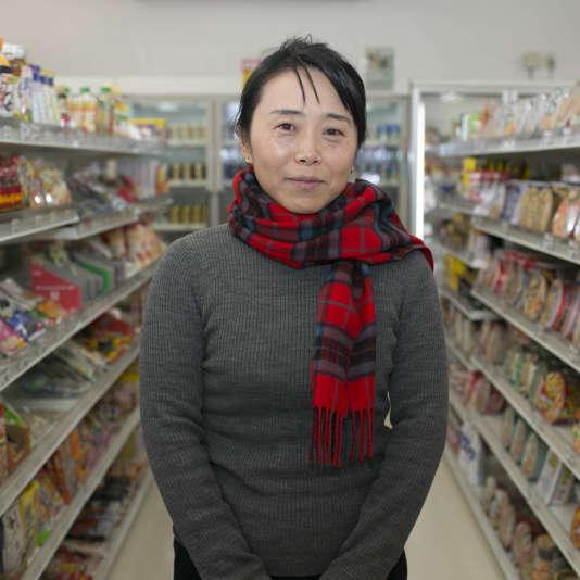 """Karin Taira a quitté son emploi pour travailler dans un bureau à Odaka afin de  """"relancer une activité économique""""."""