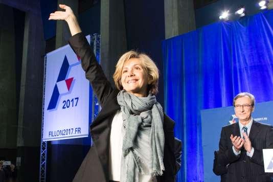 Valerie Pécresse à Boulogne-Billancourt, le 9 mars.