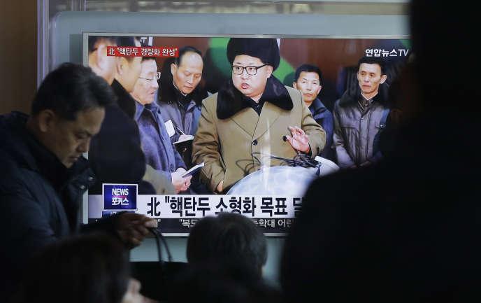 Les tensions de la péninsule n'ont fait que s'aggraver depuis le quatrième essai nucléaire nord-coréen, en janvier.