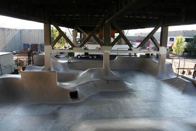 Le Burnside Skatepark de Portland (Oregon), où furent tournées des scènes de