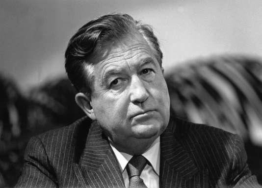 Jean-Bernard Raimond, en 1988.