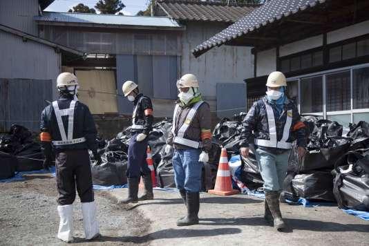 Selon le gouvernement de la ville de Minamisoma, 2 639 travailleurs avaient oeuvré, au 24 février, à la décontamination des lieux.