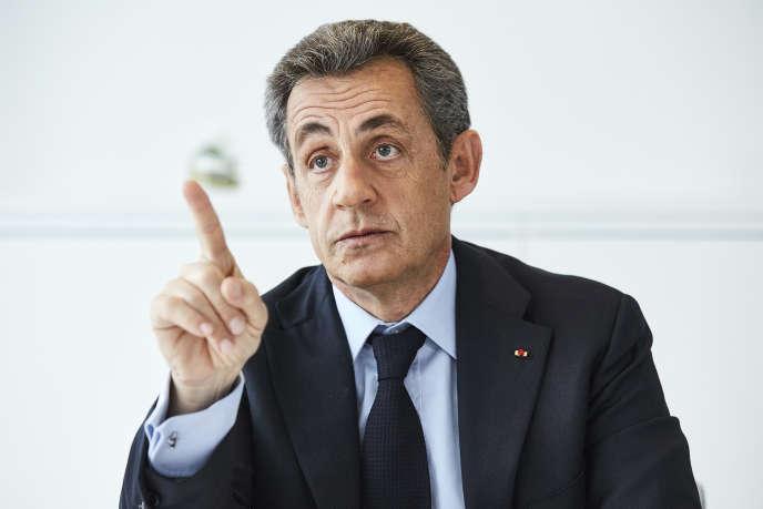 Nicolas Sarkozy, le 8 mars, à Paris.