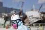Su le site de la centrale de Fukushima, le 10 février.