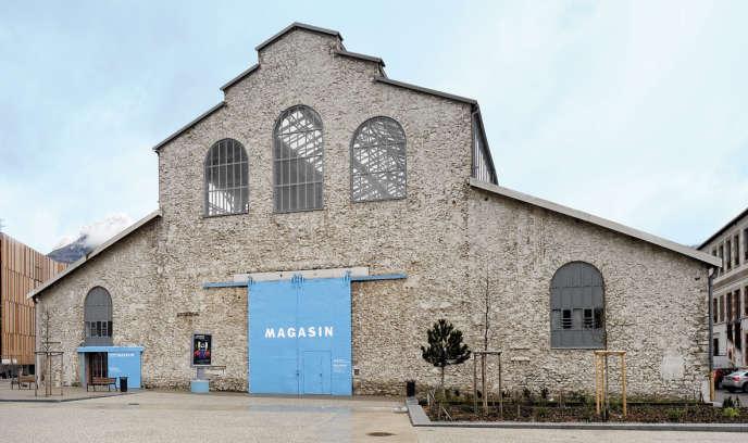 Vue d'ensemble du Centre national d'art contemporain de Grenoble, Le Magasin.
