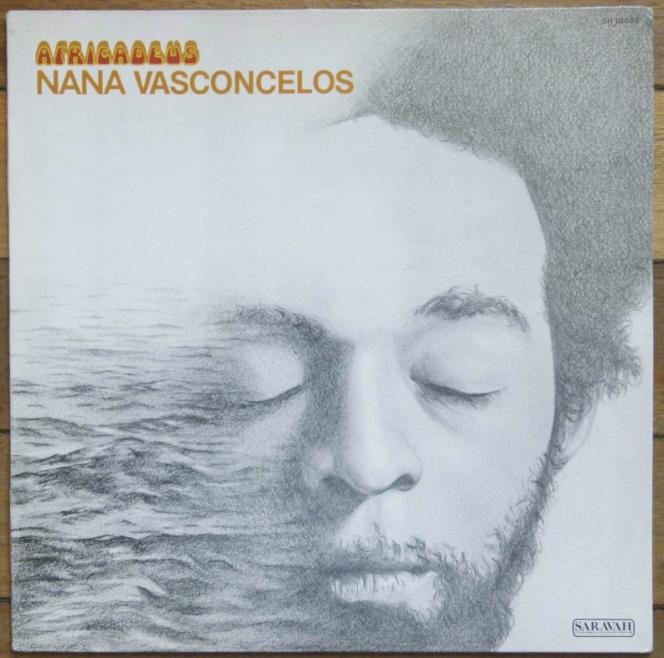 Pochette du premier album de Naná Vasconcelos,