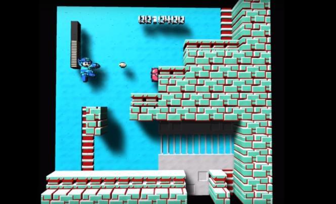 3DNes Emulator déforme les vieux jeux NES pour leur donner un rendu en relief.