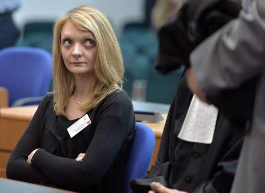Rachel Lambert a été désignée, jeudi 10 mars, tutrice de son mari Vincent Lambert pour une durée de dix ans par le juge des tutelles de Reims (Marne). / AFP / PATRICK HERTZOG