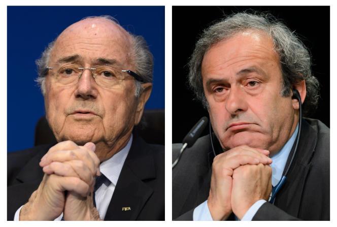 Sepp Blatter et Michel Platini, en mai, à Zurich.